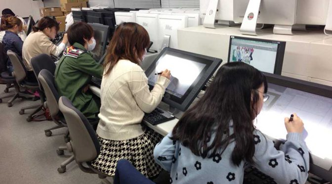 オープンキャンパスで液晶ペンタブレット体験!