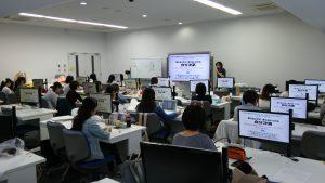 2016年10月18〜19日に開催されたレジリエンスに関する特別授業の様子です。